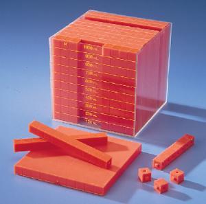 Dissectible Decimeter Cube