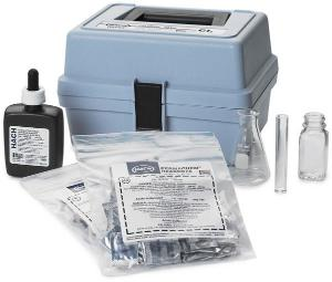 Chlorine (Total) Test Kit, Model CN-65, Hach