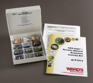 Ward's® GEO-Logic Metallic Mineral Resources Set