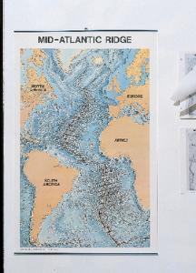 Mid-Atlantic Ridge Map
