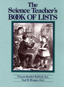 The Science Teachers book of lists