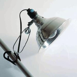 Clamp Lamp with Reflector