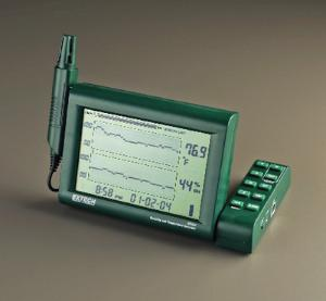 Humidity and Temperature Digital Chart Recorder