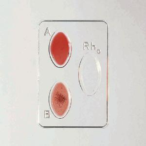 Simulated ABO Blood Typing Kit