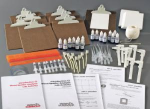 Blood Spatter Analysis Kit, Introductory and Advanced