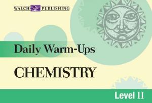 Daily Warm-Ups: Chemistry