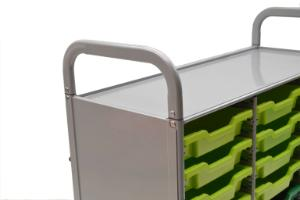 Gratnells Callero Plus Treble Tray Cart Handles