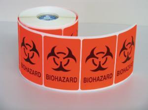 VWR® Biohazard Labels