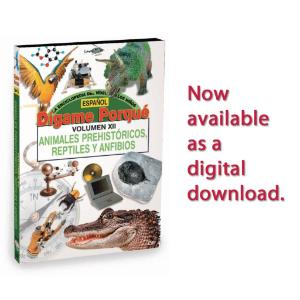 Tell Me Why: Prehistoric Animals & Reptiles - Spanish