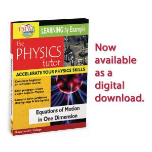 Physics Tutor: Equations Of Motion In One Dimension