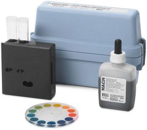 pH Test Kit, 4.0 - 10.0 pH, Model 17N, Hach