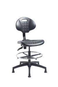 "VWR® Urethane Lab Chairs, Bench Height, 2"" Nylon Glides"