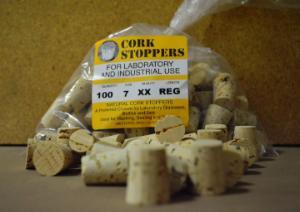 Cork, XX Quality, Size 7