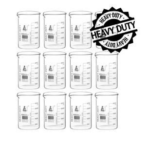 Beaker heavy duty glass 250 ml pack