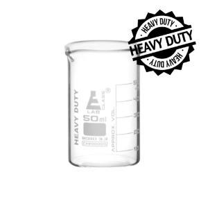Beaker heavy duty glass 50 ml