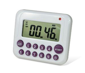 SP Bel-Art H-B® DURAC® Single-Channel Electronic Timer with 10-Button Direct Input and Certificate of Calibration, Bel-Art Products, a part of SP
