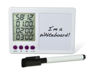 H-B DURAC 4-Channel Electronic Timer with White Board and Certificate of Calibration, SP SCIENCEWARE