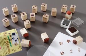 Animal Tracks Stamps