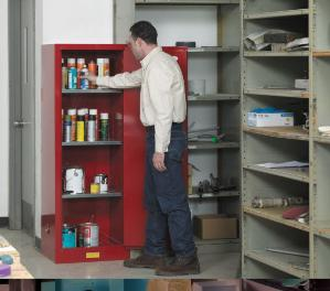 Sure-Grip® EX Slimline-Styled Safety Cabinets for Flammable Materials, Justrite™