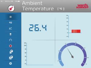 Ward's® Single Probes Base Unit w/Ambient Temperature Sensor
