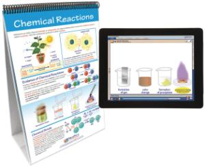 Flipchart with Multimedia Lesson:Chemical  Reactions