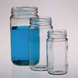 Tall Glass Display Jars