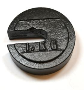 Slotted Weight, 1 Kg