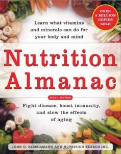 Book, Nutrition Almanac (Kirschmann)