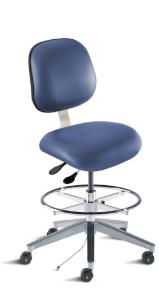 BioFit Elite Series Combination Cleanroom ESD/Static Control Chair