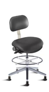 BioFit Eton Series Cleanroom Chair with adjustable Footring