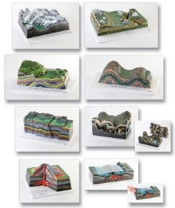 Ward's® Complete Set of Geological Processes Models