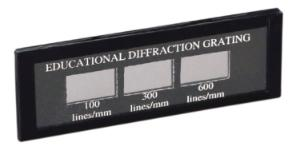 Demonstration Diffraction Grating