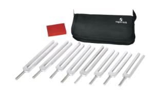Equally Tempered Tuning Forks Set
