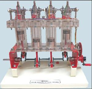 Four Stroke Engine Model