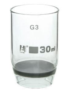 Gooch Type Crucibles, Sintered, 30 ml