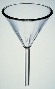PYREX® Fluted Short Stem Funnels
