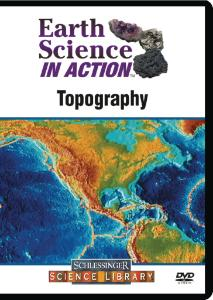 Earth Science in Action: Topography DVD