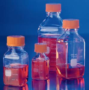 PYREX® Square Bottles, Graduated, Corning®