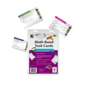 Math Band Task Cards