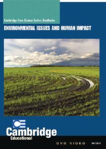 GeoBasics: Environmental Issues and Human Impact DVD