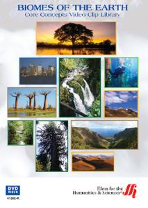 Biomes of the Earth: Core Concepts DVD