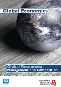 Global Resources: Management & Competition DVD