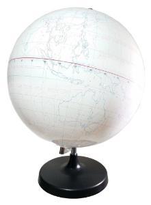 Whiteboard globe