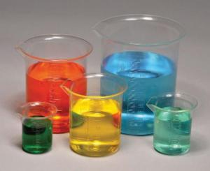 Plastic Beaker Set, PMP