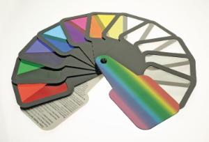 Color Filter Paddles