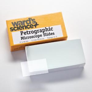 Ward's® Etched Petrographic Microscope Slides