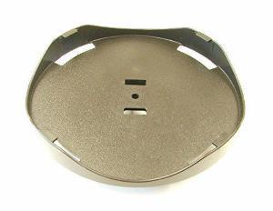 Round plate attachment for vortexer