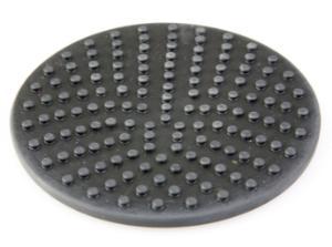 Textured platform pad