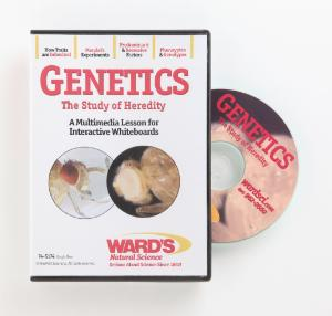 Interactive Whiteboard Science Lesson CD: Genetics: The Study of Heredity