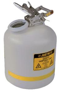 Justrite® Polyethylene Liquid Disposal Can